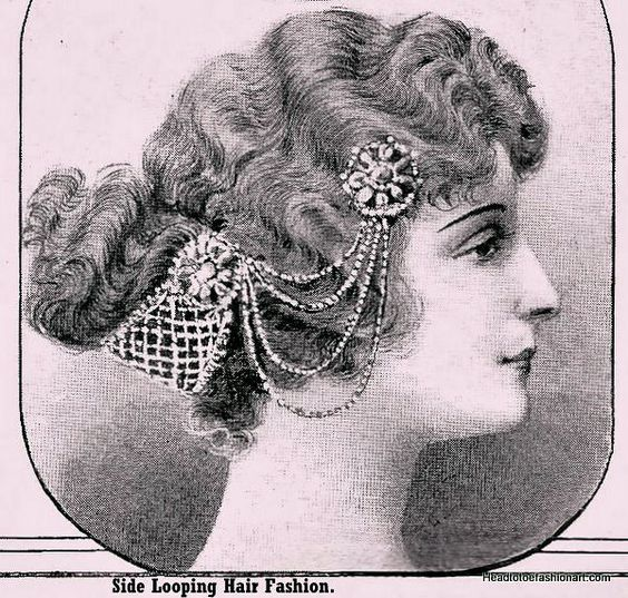 Edwardian Headpiece