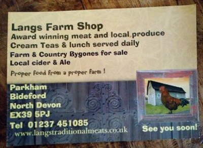 Langs Farm Shop