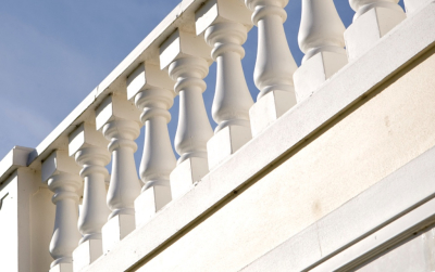Creative Stone Castings range of balustrading provides for unitised design and construction