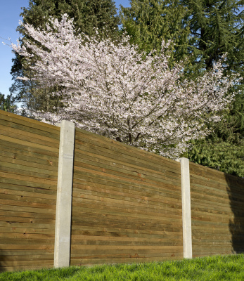 Creative Stone Castings specialise in supplying heavy-duty, slotted concrete posts, ideal for use with all fencing panels