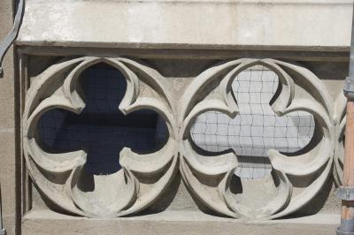 St James' Concrete Detail