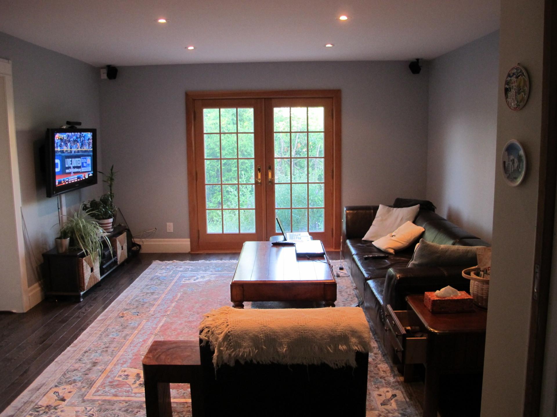 Farm house family room
