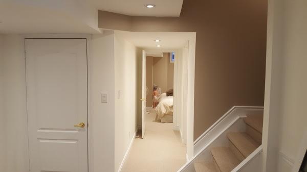 Markham basement