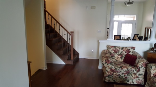 New stairs and flooring
