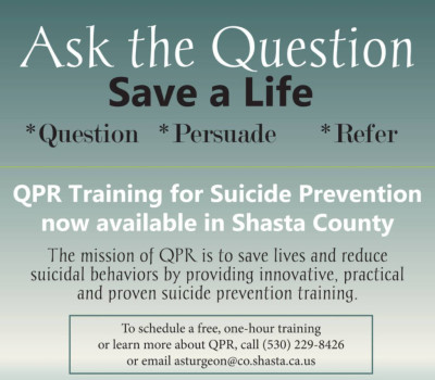 QPR Suicide Prevention Training February 10th