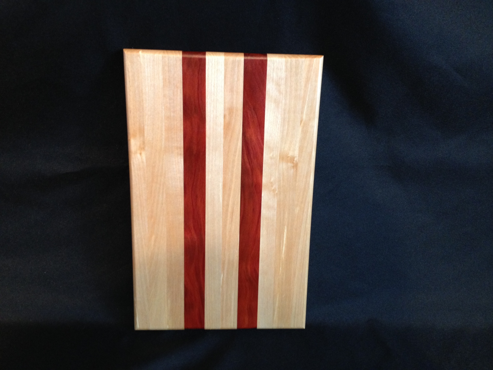 Cutting Board Alaska Birch and Red Heart
