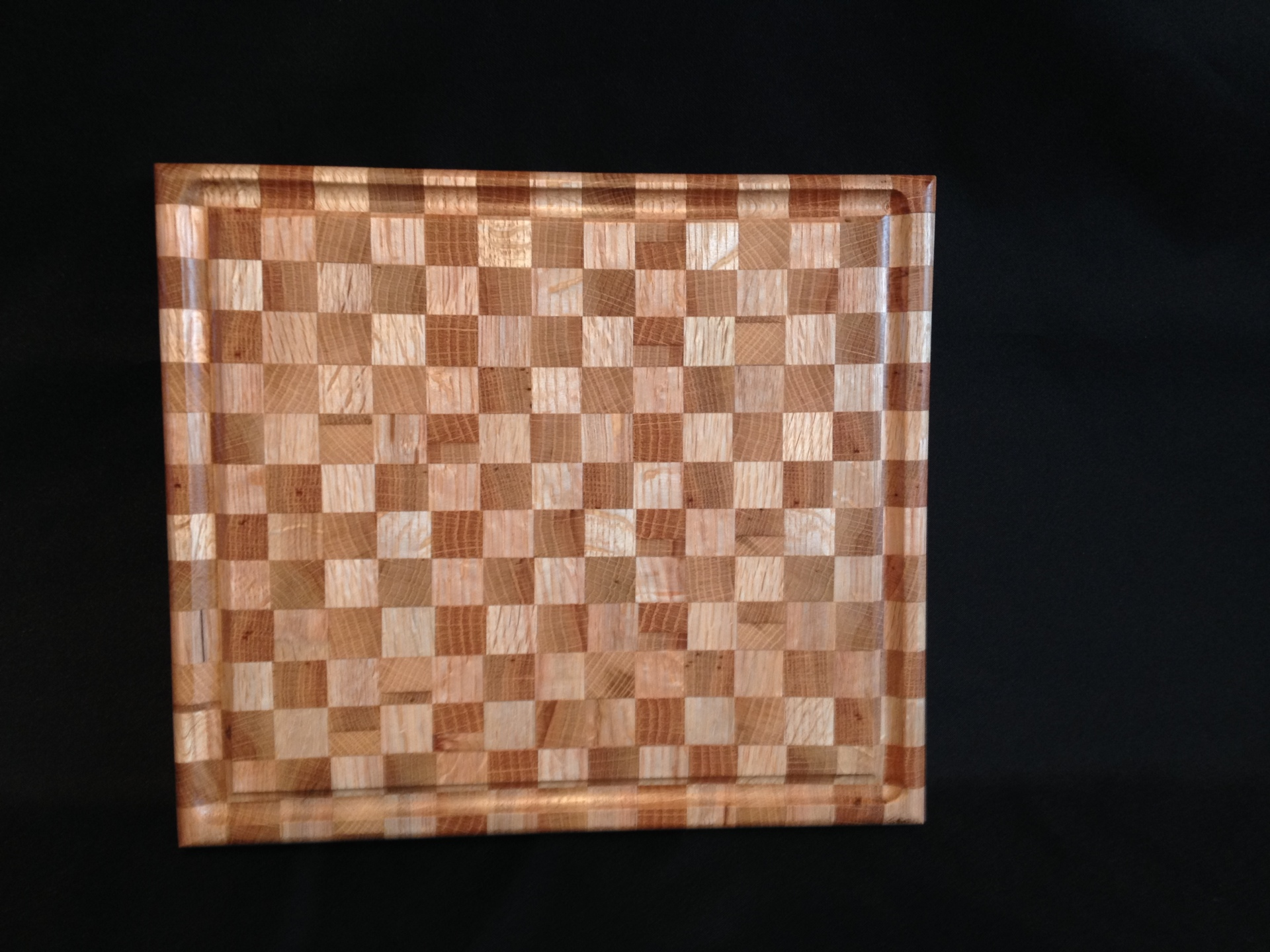 Cutting Board Red Oak End Cut
