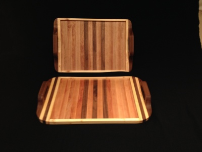 Serving Trays Alaska Birch, Walnut, and Maple