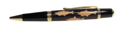 Fish Inlay Pen