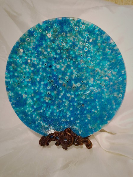 Blue Murrine Platter