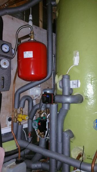 Link-up System Installation - Wood Burner, Oil Boiler and Solar Thermal