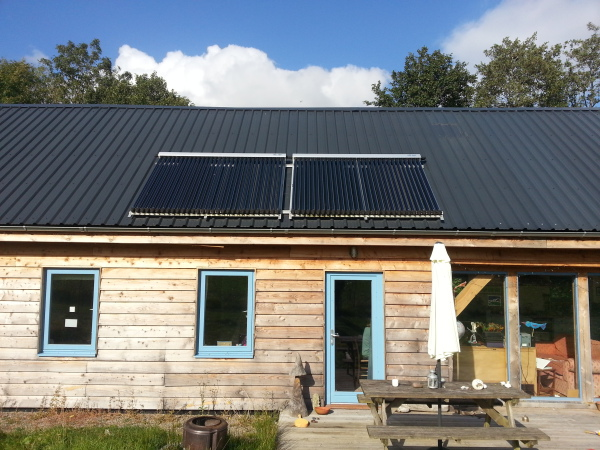 Solar Thermal Panels, Free Hot Water.