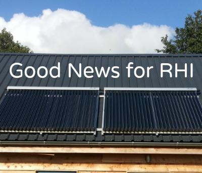 Domestic RHI Tariffs - Good News for Heat Pumps, Solar Thermal and Biomass