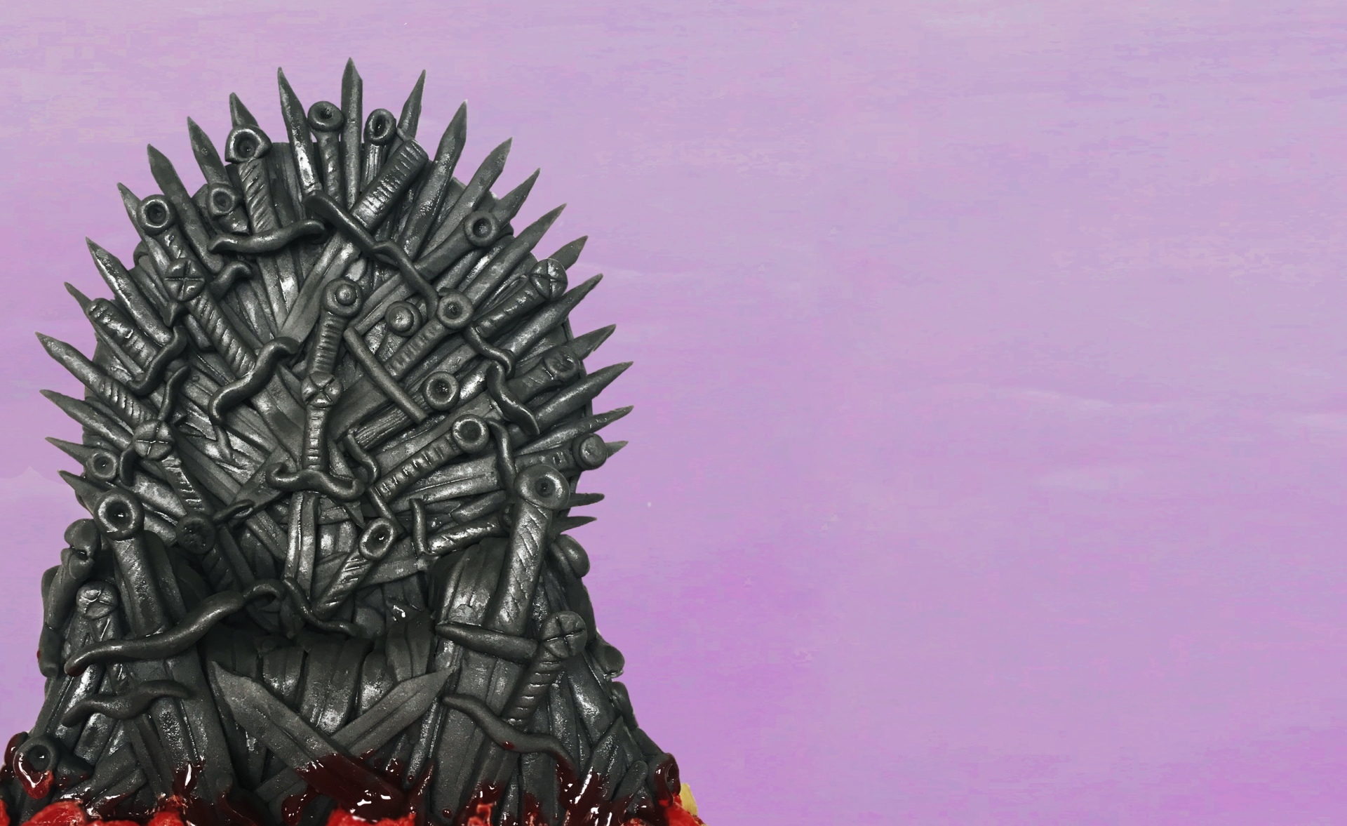 Iron Throne Cake Topper - Game of Thrones