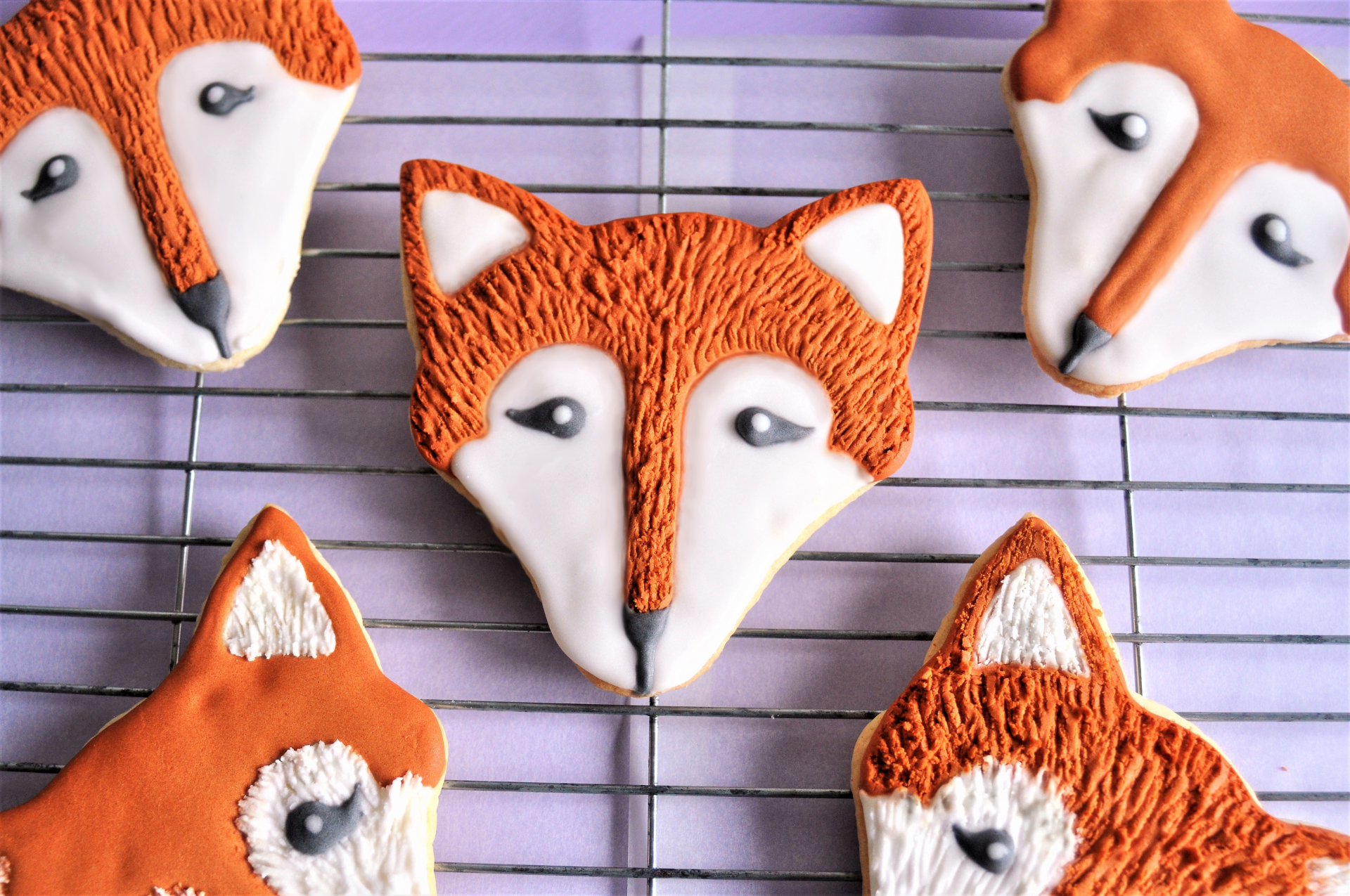 Fox Faced Cookies
