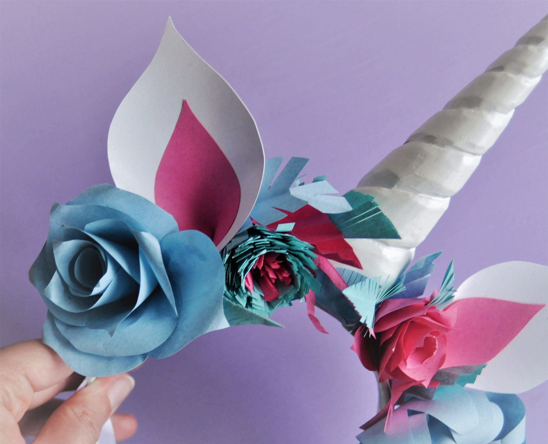 diy unicorn horn