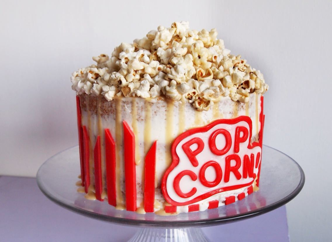 How To Make The Most Wonderful Winter Spiced Popcorn Cake