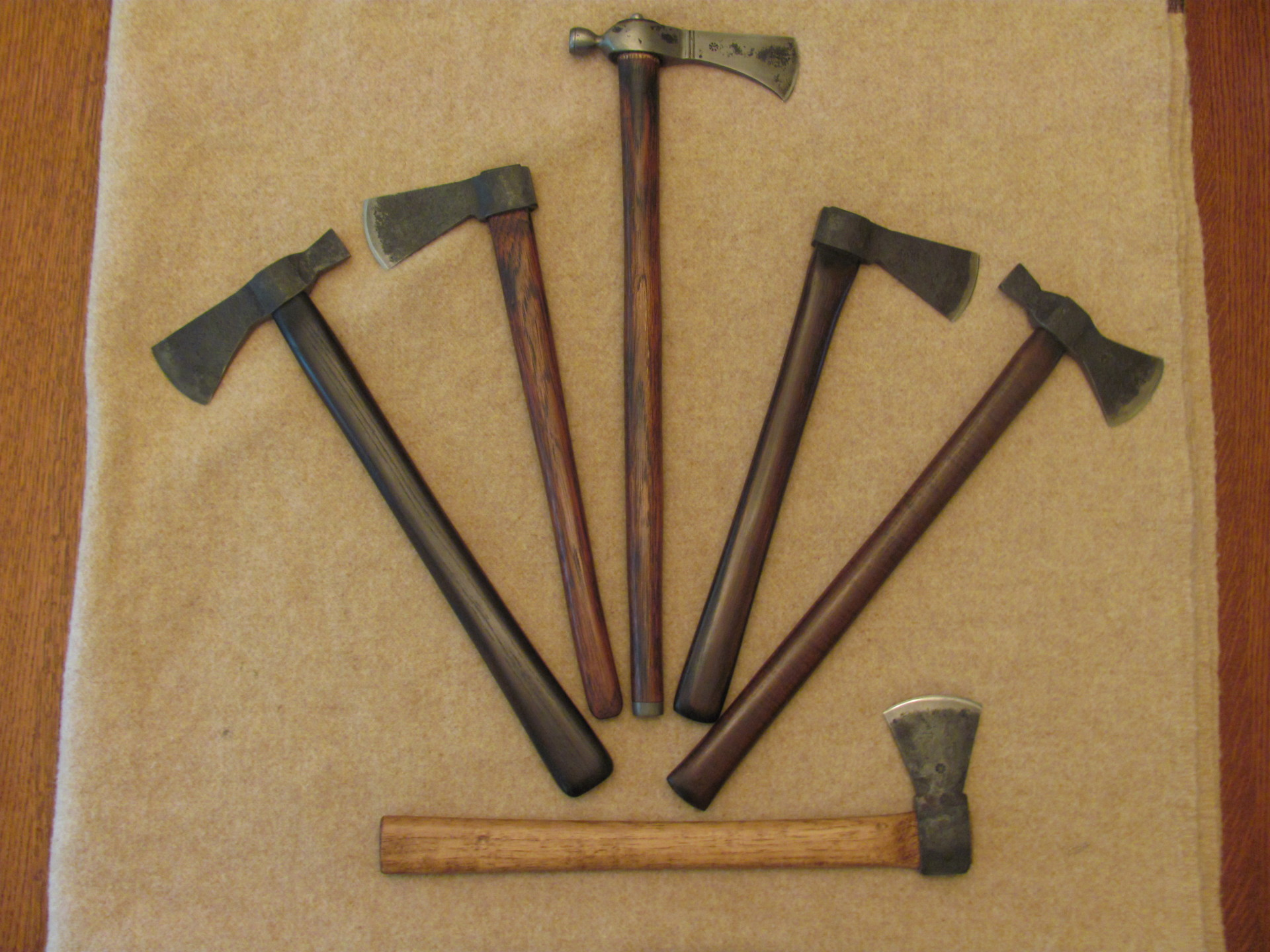 Previously Sold Axes