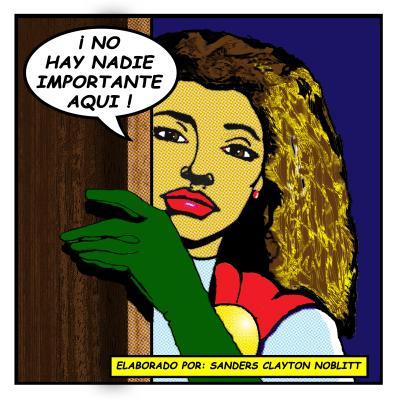 Anita ¡Lichtenstein! © Sanders Clayton Noblitt