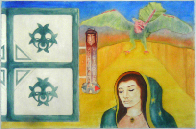 Tonto en México: La pintora © Sanders Clayton Noblitt