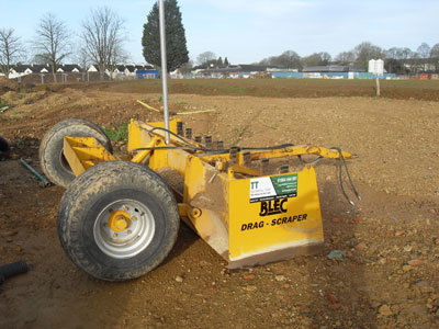 Blec Laser Grader LG2400 with Laser Kit