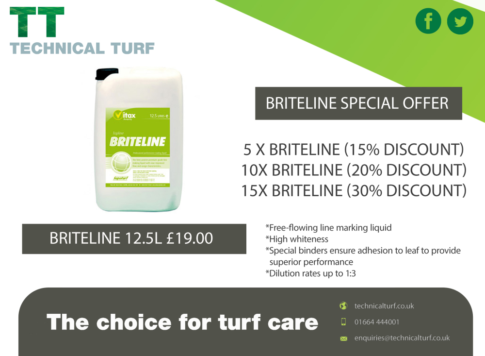 Supaturf Briteline Offer