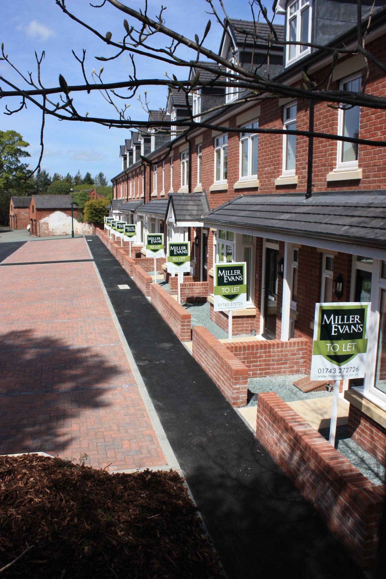 Housing development - Shrewsbury