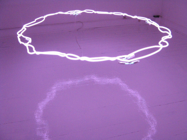Pi Neon installation Triskel Art Centre Cork Ireland