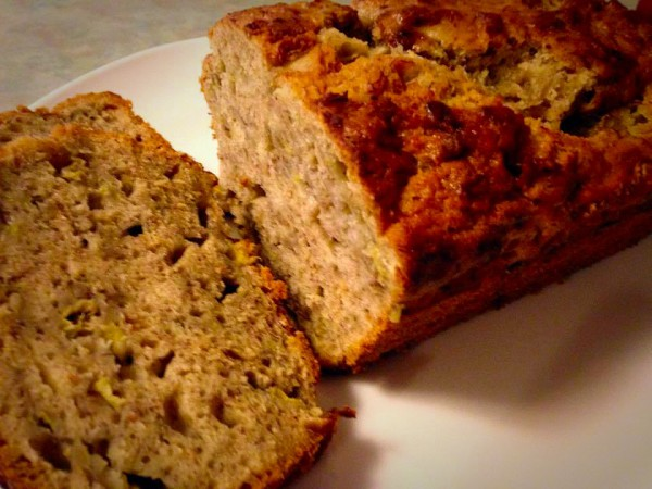 Cinnamon Spiced Vegan Banana Bread