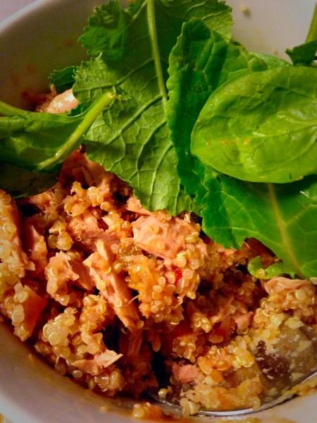 Salsalicious Tuna & Quinoa Salad