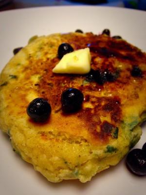 Dairy Free Wild Blueberry Pancakes