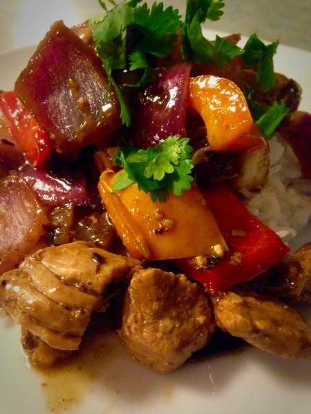 Chinese Pork Sizzler
