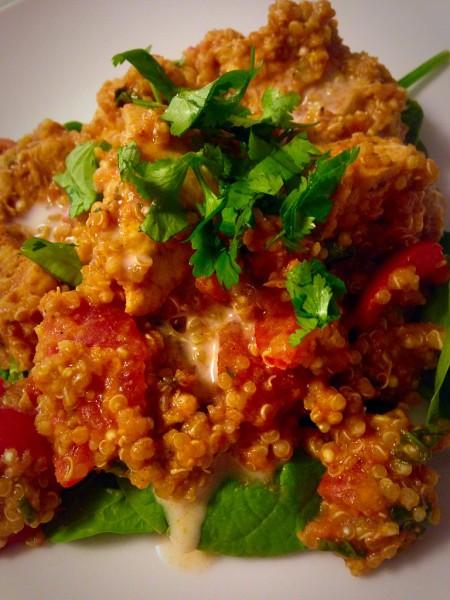 Slow Cooker Chicken Tikka Masala Quinoa