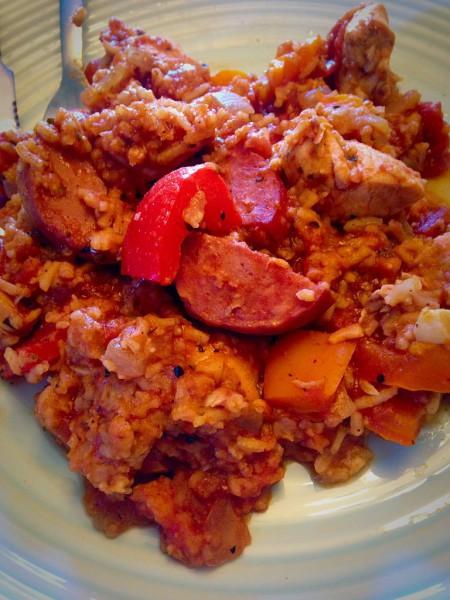 Cajun Chicken Jambalaya