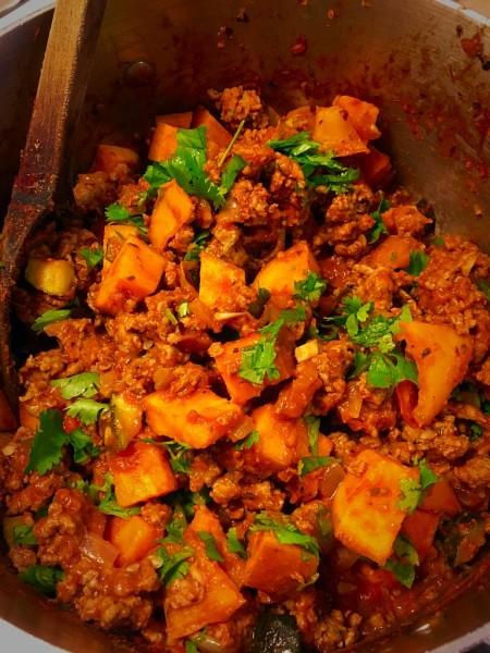 Turkey & Sweet Potato Bowl