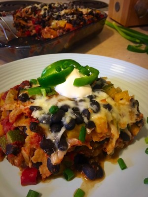 Mexican Veggie Lasagna