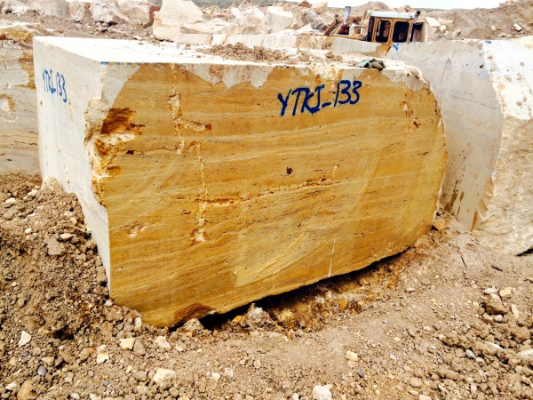 Yellow Travertine