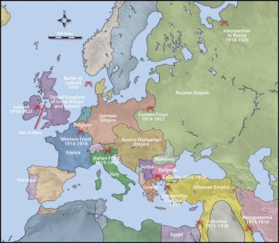 Europe 1914 - 1918