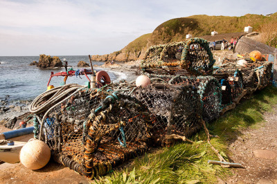 Lobster Pots at Niarbyl