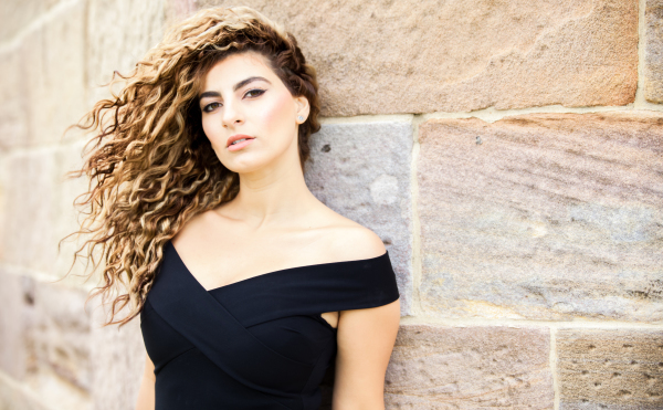 Singer/Model Sabrina Mitwali