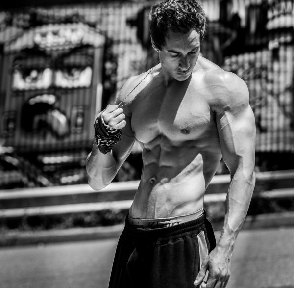 Model/Fitness Trainer Daniel Pardo