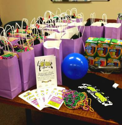 Goody Bags for the Participating Businesses