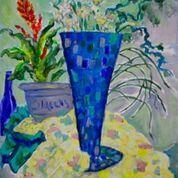 Vase in Blue