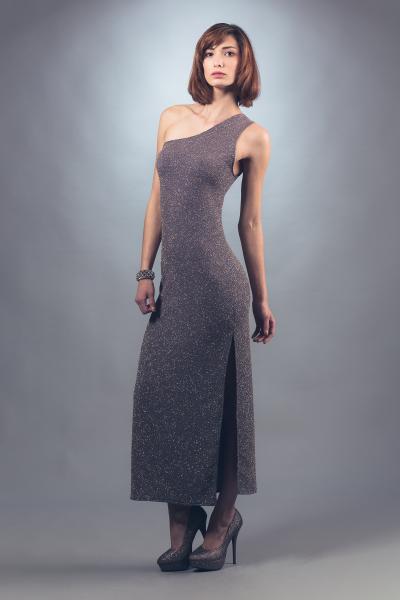 Elegant Lavender Dress