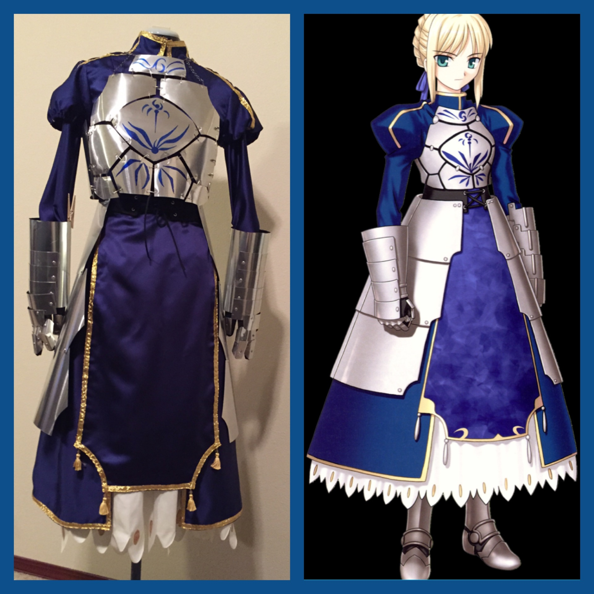 Fate Stay Night Saber Cosplay