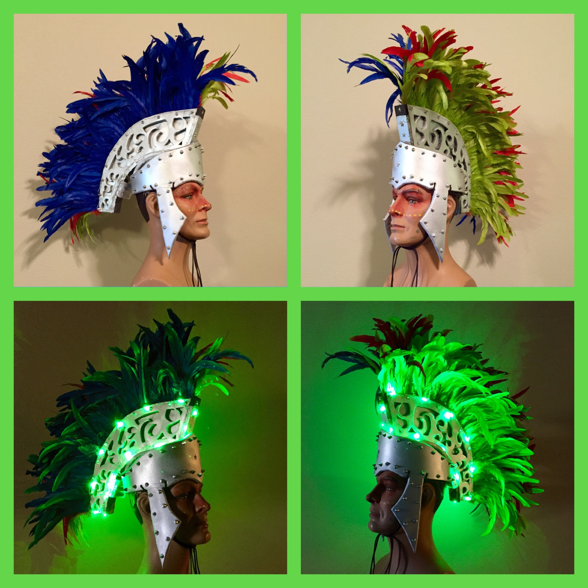 Rave Style Light up Helmet