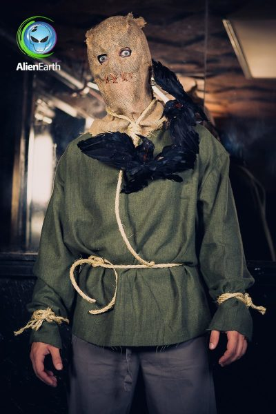 Custom Scare Mask and Costume