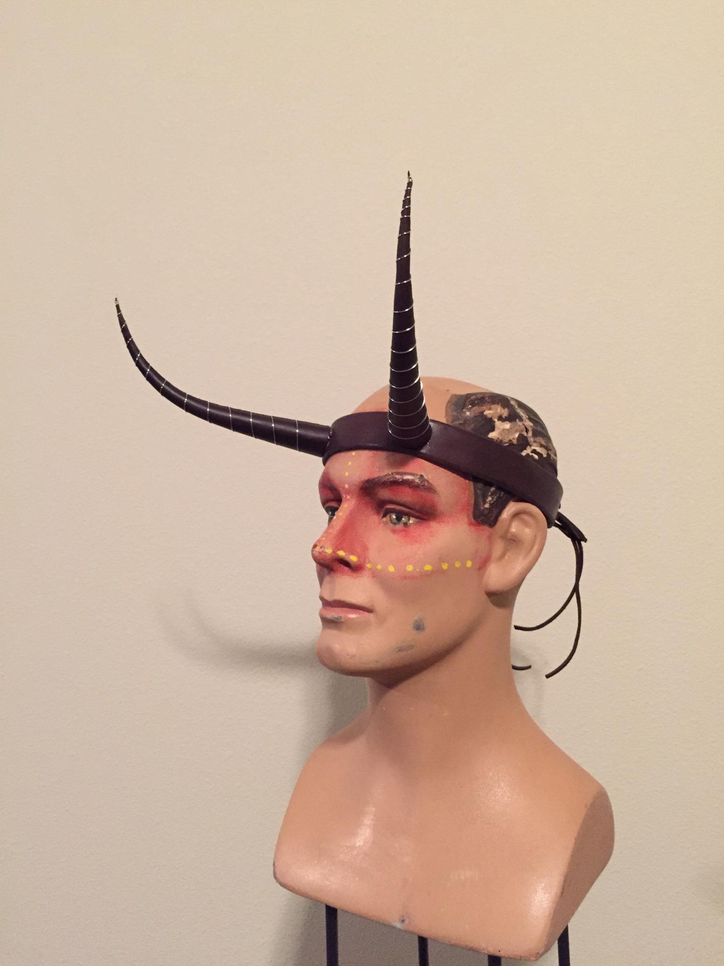 Custom Leather Horns
