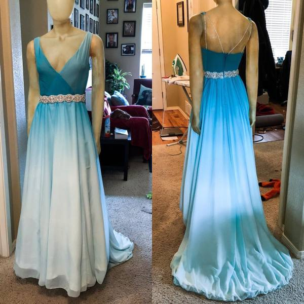 Custom Homecoming Gown