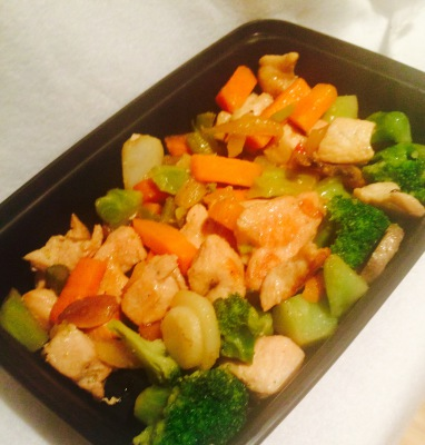 Chicken Stir Fried